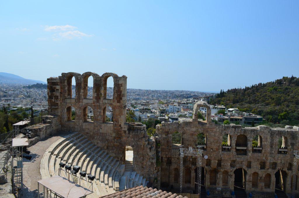 Akropol w Grecji